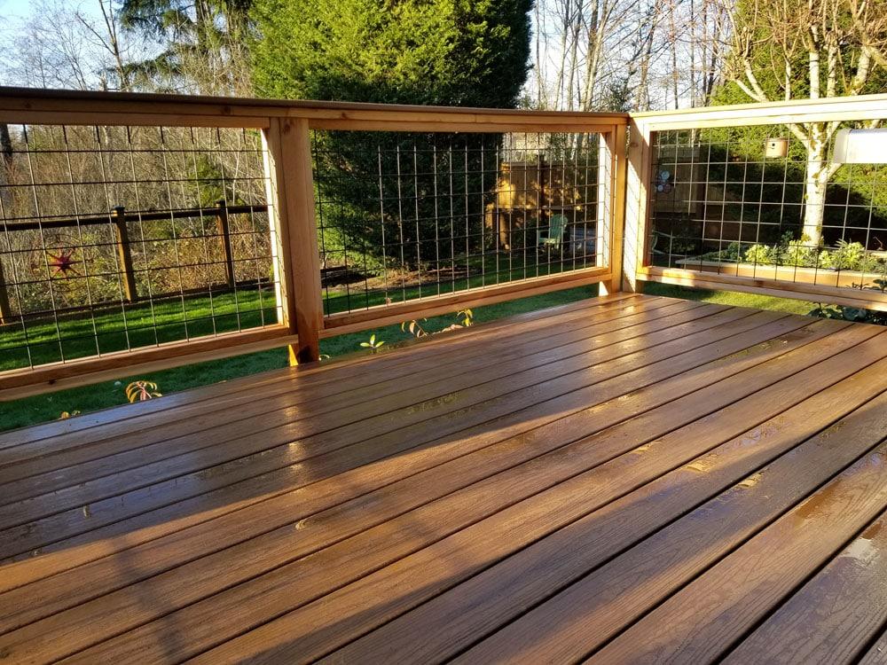 hardwood deck newcastle