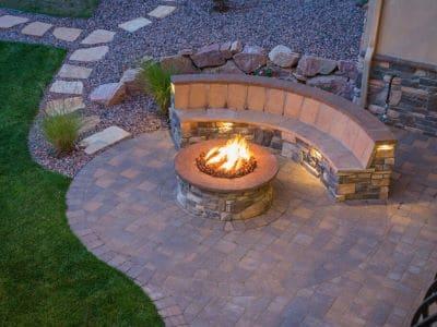 outdoor living space mercer island